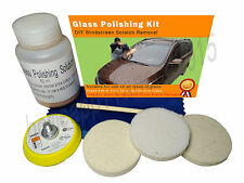 Glass Polishing Kit,  Windscreen Scratch Remover , Polishing Solution