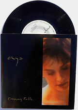 """ENYA 7"""" Evening Falls / Oiche Chiun MINT UNPLAYED Vinyl Card Sleeve"""