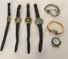 Women's Wrist Watch Collection Many Brands And Types Lot Of 7