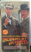 Sherlock Holmes and the Incident at Victoria Falls (VHS) 1991 w/ Christopher Lee