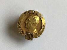 Vintage Eastman Kodak 40yrs Service 10K Gold Lapel Pin  or 10 k