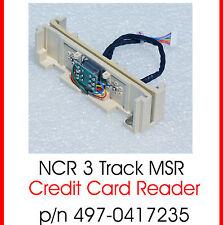 MAGNETCARD READER MAGNETKARTENLESER NCR DYNAKEY 497-0417235 MSR-3 TRACK -TOP MK3