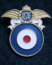 WWII RARE RCAF ROYAL CANADIAN AIR FORCE QUEBEC BENEVOLENT FUND LAPEL PIN BADGE