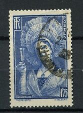 France 1938 SG#595 1f75 Champagne Girl Used #A19246