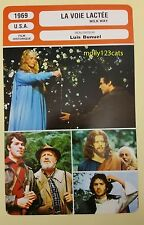US Movie The Milky Way Luis Bunuel Paul Frankeur French Film Trade Card