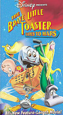 The Brave Little Toaster Goes to Mars (VHS, 1998, Clam Shell) Children Kid's