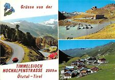BG27159 grusse von der timmelsjoch hochalpenstrasse otztal tirol  austria