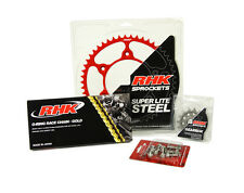 Honda CRF450R CRF450X 2006 2007 2008 O-Ring Chain Front Rear Sprocket Kit Red