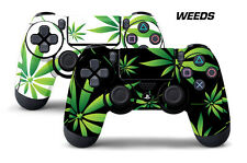 Dual Skin Sticker Wraps 2 Pack PS4 Playstation 4 Remote Controller Decals WEEDS