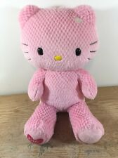"Build A Bear Sanrio Pink Checkered Hello Kitty 18"" Plush"