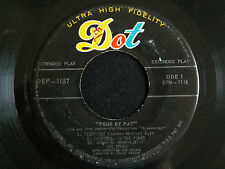 Pat Boone - Four By Pat (Very Rare American EP)