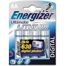 4 pk ENERGIZER Lithium AA Ultimate Dated 2023 L91 LR6