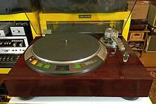DENON DP-57L DIRECT DRIVE TURNTABLE RECAPPED AND RESTORED!