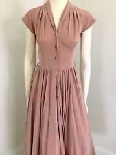 BIG SALE! Vintage 40s 50s Swing , Ball gown  Cocktail Dress , Pinup