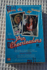 SEALED 1992 Lime Rock Pro Cheerleader Football Trading Cards Full Box