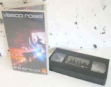 VASCO ROSSI @ S. SIRO 03 (2003) VHS ORIGINALE 1ª EDIZIONE