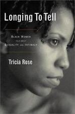 Longing to Tell: Black Women's Stories of Sexuality and Intimacy-ExLibrary