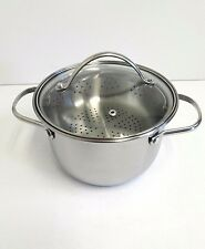 Tools of the Trade Stainless Steel 4 Qt. Soup Pot and Steamer