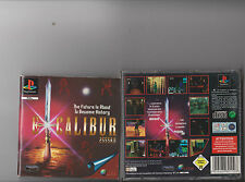 EXCALIBUR 2555 AD PLAYSTATION 1 PS1 PS 2