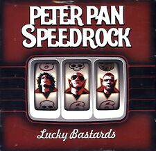 PETER PAN SPEEDROCK Lucky Bastards CD GERMANY IMPORT PROMO HARD ROCK