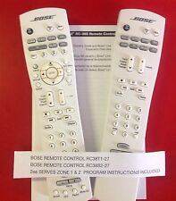 BOSE LIFESTYLE AV-38 REMOTE CONTROLS ZONE 1 & 2[RC38T1-27 & RC38S2-27]