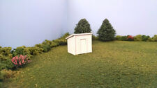 HO Scale Laser Cut Pump House Shed Kit