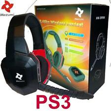 Wireless Gaming Stereo Headphones microphone for PS3 Playstation Noise reduction