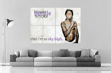 LIL WAYNE SMOKING MIXER Wall Art Poster Grand format A0 Large Print