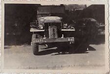 Old Vintage Antique Photograph Cool Old Military Jeep Truck