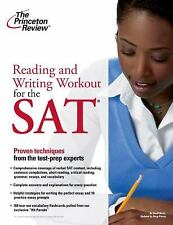 Reading and Writing Workout for the New SAT by Princeton Review Staff (2004,...