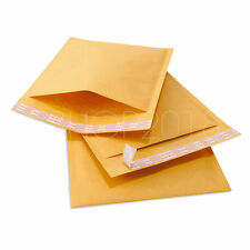500 #000 4x8 Premium Kraft Bubble Mailers Padded Envelopes Bags Shipping Mailer