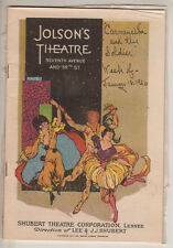 "Playbill ""Carmencita and the Soldier"" 1926 Broadway Moscow Art Theatre"