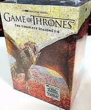 Game of Thrones DVD Season 1-6 Complete 1 2 3 4 5 6 DvD Set Bundled