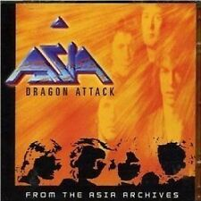Asia Dragon Attack Live 2-CD NEW SEALED John Wetton/Geoff Downes/Carl Palmer