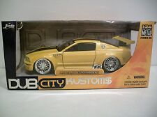 NIB 1:24 Scale Dub City Kustoms MUSTANG GT-R CONCEPT Die-cast By Jada Toys