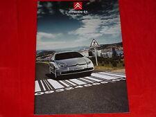 CITROEN C5 Limousine + Kombi 1.8 16V - HDi 135 Prospekt von 2005