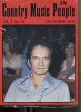 Country Music People - December 1976 - Vol.7 No.12