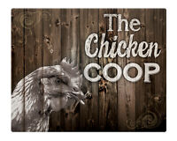 """Chicken Coop 8x10"""" Sign eggs Farm Rustic Shabby chic gift idea Christmas #14"""