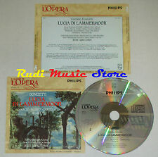 CD DONIZETTI Lucia di lammermoor CABALLE MURRAY CARRERAS grandi opera lp mc dvd