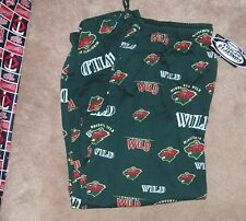 NEW NHL Minnesota Wild Loungewear Sleepwear Pajama Pants Men L Large NEW NWT