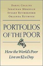 Portfolios of the Poor: How the World's Poor Live on $2 a Day by Collins, Daryl