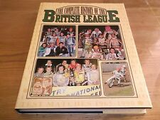 Book. Speedway. The Complete History of the British League. 1st 1991 HB. Oakes.