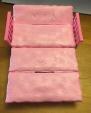 Barbie Doll Pull Out Sofa Bed Day Bed Couch Futon Pink VHTF EUC