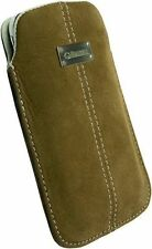 Krusell - Luna Brown Phone Pouch - Medium (95256)