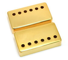 (2) Gold Covers for Modern Gibson® Humbucker Pickups Wide Bridge PC-0300-W02