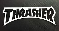 Thrasher Magazine Skateboard Sticker Logo Decal Mag Skate Goat KOTR Flame New