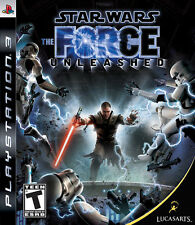 Star Wars: The Force Unleashed (Sony PlayStation 3, 2008) GOOD