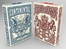 The Independence Playing Card Deck The Crown Red Single Deck By Jackson