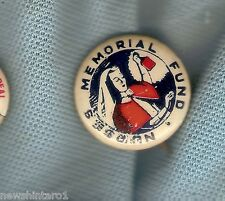 #D164. NURSES MEMORIAL FUND TIN BADGE