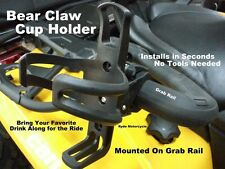 ATV UTV Utility Grab Rail Handlebar Cage Mount Can Bottle Drink Beverage Holder